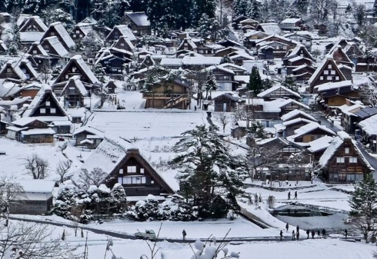 Làng Shirakawa-go (Nhật Bản)