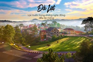 Đà Lạt - Trại cafe chồn - KDL Lá Phong - Tà Nung