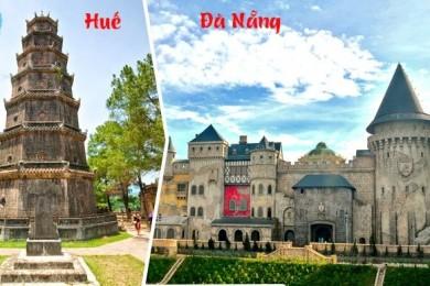 Đà Nẵng - Sơn Trà - Hội An - Bà Nà - Huế - Động Phong Nha (Chưa VMB)