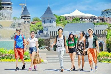 [Xe giường nằm] Nha Trang] Happy Beach Camp - Đảo Hoa Lan - Vinpearl - Hòn Chồng