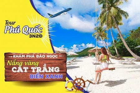 Khám phá đảo ngọc Phú Quốc - Bao gồm VMB