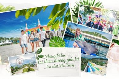 Nha Trang [Xe giường nằm] Happy Beach Camp - KDL Tàu ngầm - Vinpearl - Hòn Chồng